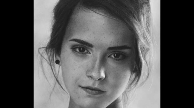 portrét emmy watson