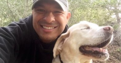 slepého psa zachránil