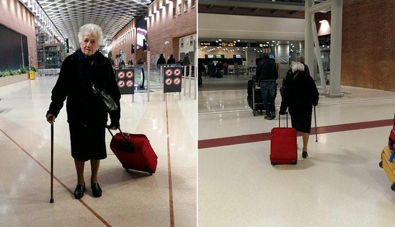 babička letí